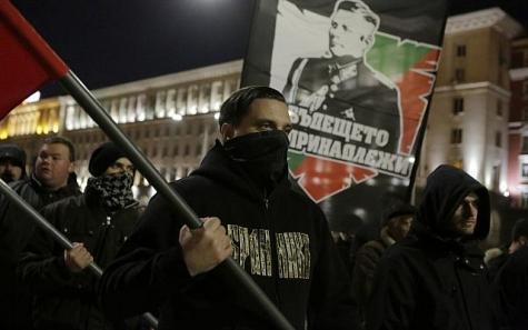 Неонацисты изЭстонии приняли участие вправоэкстремистском марше вБолгарии