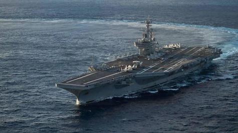 Авианосец ВМС США зашел свизитом визраильский порт
