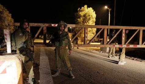 Израиль остановил  действие разрешений на заезд  для палестинских арабов
