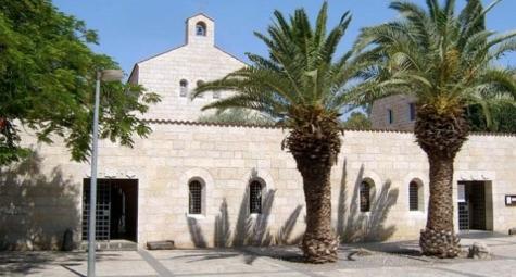ВСвятой Земле восстановлен храм Приумножения хлебов, сожженный еврейскими экстремистами