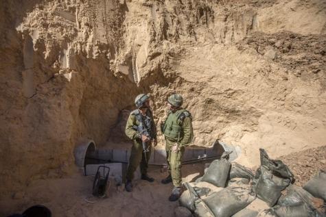 ВВС ЦАХАЛа нанесли удар поцели всекторе Газы