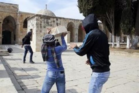 НаХрамовой горе вИерусалиме произошли беспорядки