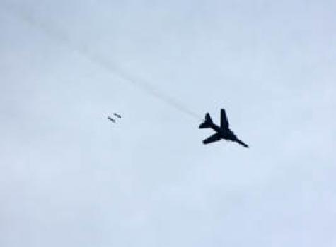 Самолеты ВВС Израиля ответили огнём нашальной снаряд изСирии