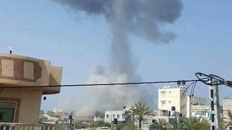 Боевики выпустили две ракеты поИзраилю стерритории сектора Газа