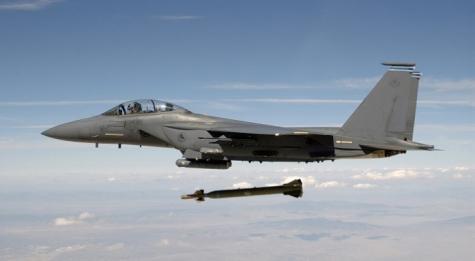ВВС Израиля обстреляли позиции сирийской армии