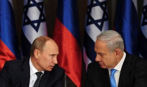 ВКремле назвали темы переговоров Владимира Путина иНетаньяху