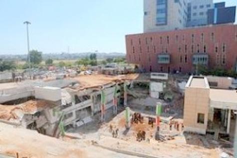 Опознано тело 5-ого погибшего при обрушении парковки вТель-Авиве